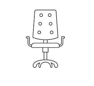 Комп'ютерні/офісні крісла