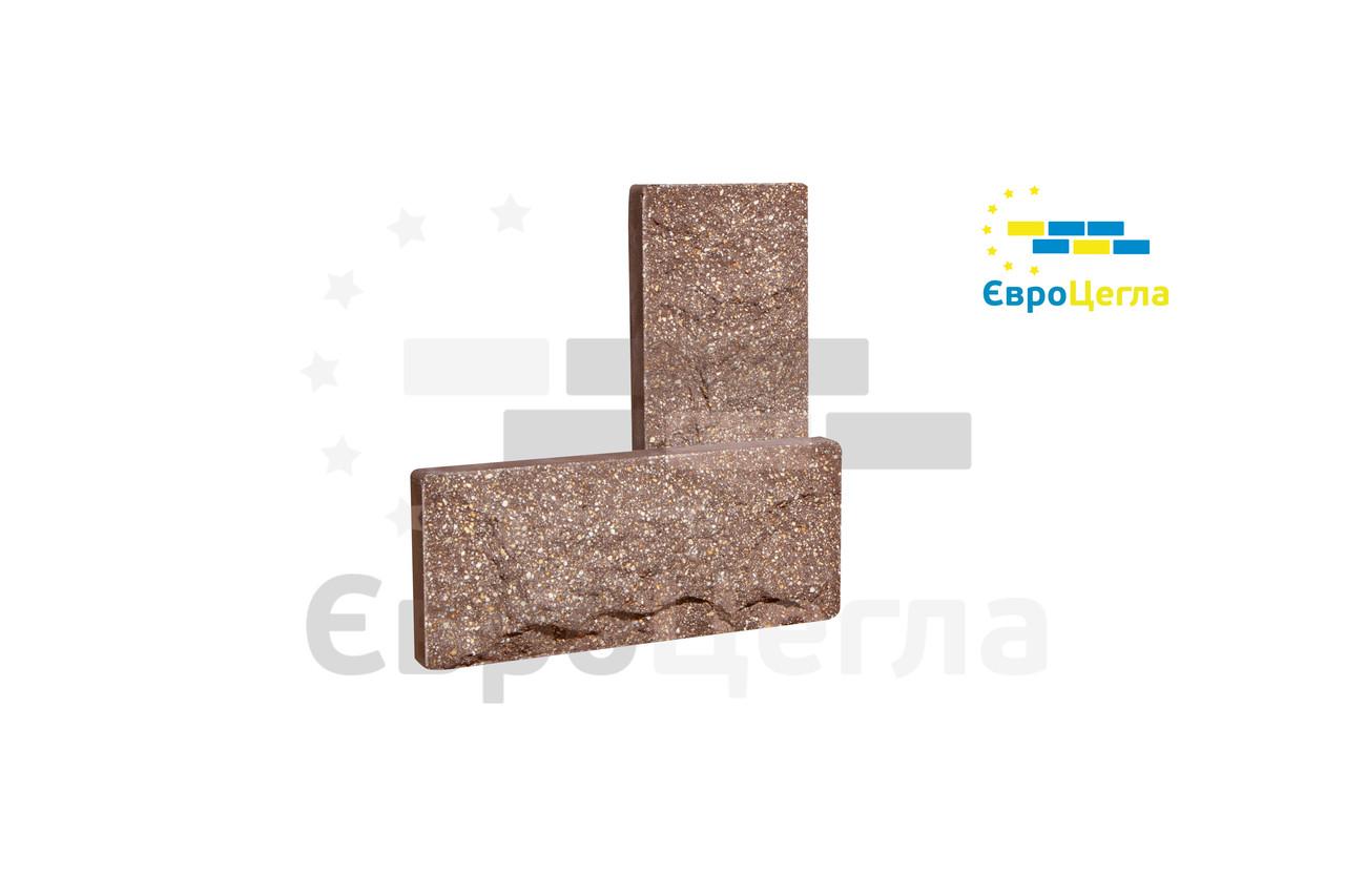 """Плитка для цоколя паркану """"Скеля"""" 250х105х20мм"""