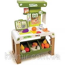 Ігровий набір Супермаркет здорової їжі з електронною касою Smoby 350200