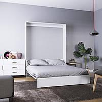 Шкаф-кровать двухспальная 200х160 Mira
