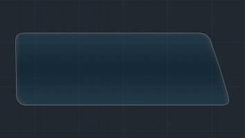 Захисне гібридне скло на великий монітор MATT LEXUS RX 2016 - 2018