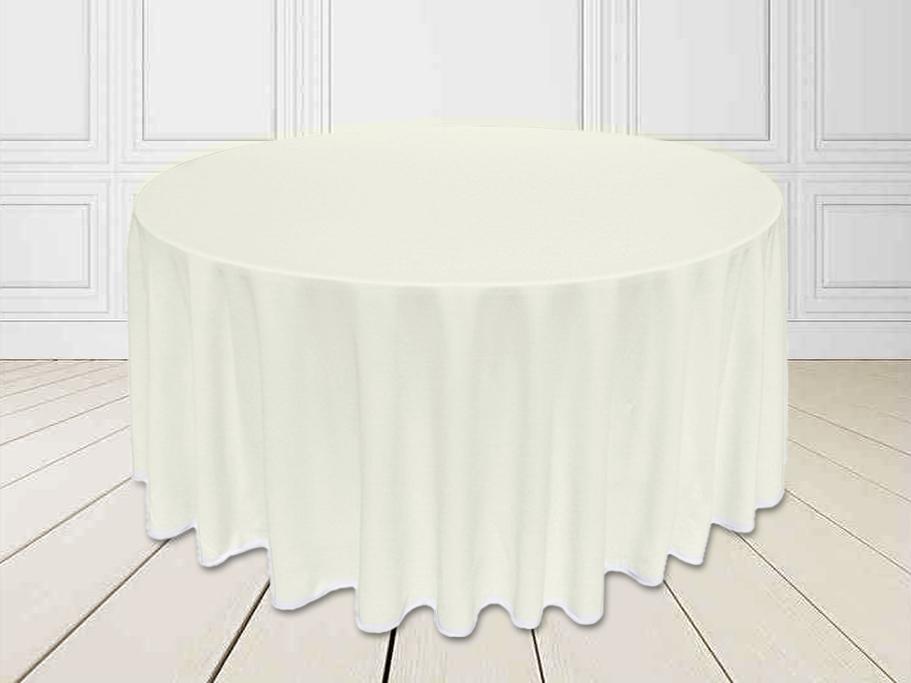 Скатертина Шампань Ø 330см Банкетна Туреччина Сервіровка на стіл 180см до підлоги