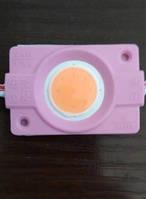 Светодиодный модуль Biom 2,4W COB розовый