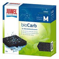 Угольная губка в фильтр для аквариума Juwel Compact bioCarb M 2 шт.