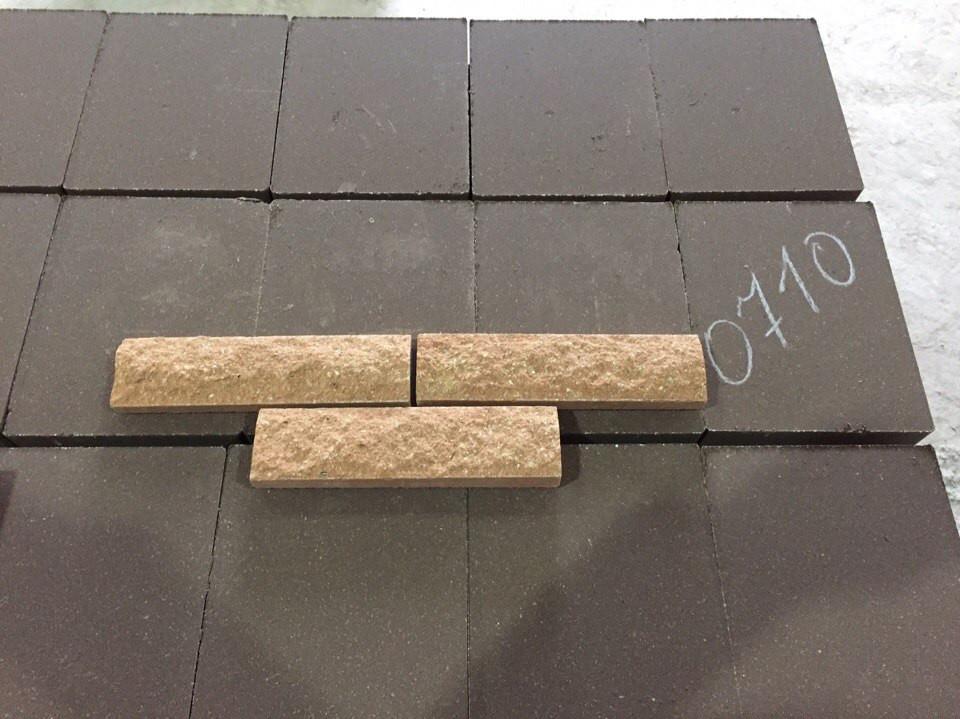 Облицовочная плитка наружная, размер 200х65х20мм