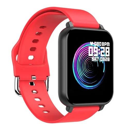 Фитнес – трекер Smart Band T82 (Красный)