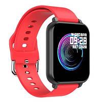 Фитнес – трекер Smart Band T82 (Красный), фото 1