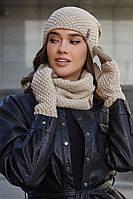 Жіночий комплект з рукавичками і бафом (4731-37)