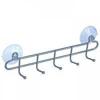 Крючки для ванной на присосках ARTEX 5 шт