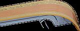 Лента декоративная на карниз, бленда Ажур 3 Бук 70 мм на усиленный потолочный карниз КСМ, фото 2