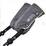 Муфты перчатки на коляску, фото 2