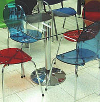 Стол стекло для кафе и баров Альт квадраи