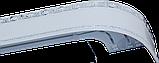 Лента декоративная на карниз, бленда Ажур 3 Хром 70 мм на усиленный потолочный карниз КСМ, фото 2