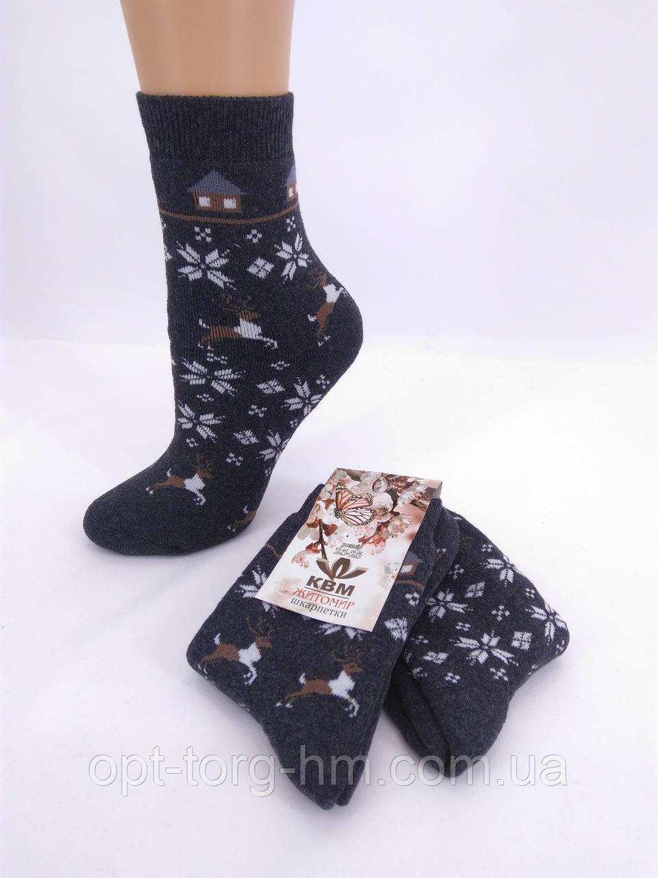 Жіночі махрові шкарпетки КВМ