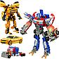 """Набор роботов трансформеров """"Оптимус Прайм и Бамблби"""" 4090, фото 2"""