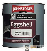 Johnstones Eggshell Brilliant White (Джонстоун Тм Эгшелл Бриллиант) Полуматовая глянцевая краска 5 л