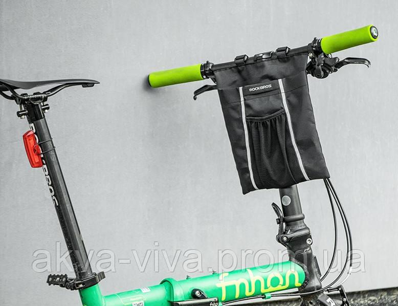 Велосумка на раму самоката, гироцикла, электровелосипеда (ВС-138)