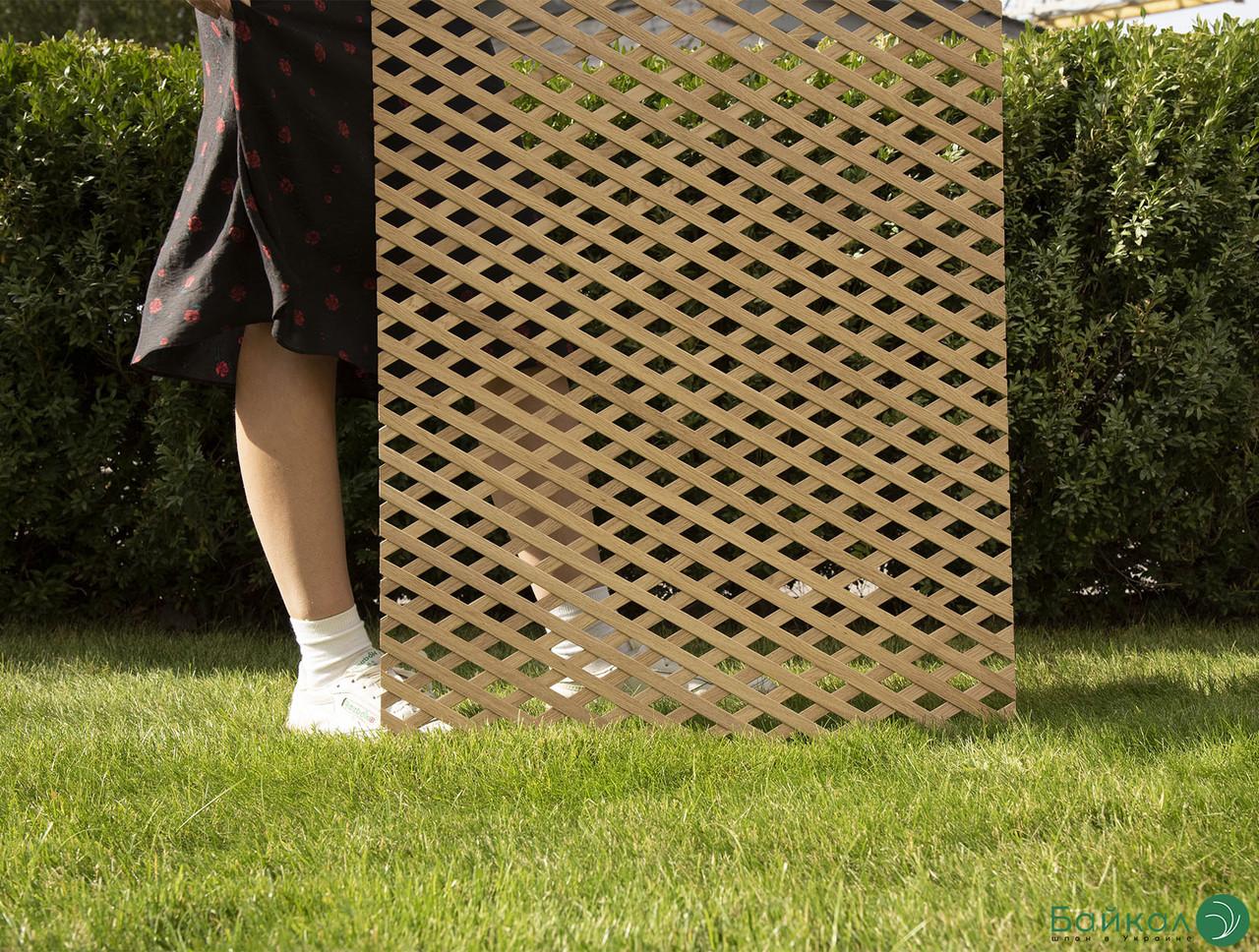 Деревянная декоративная решетка — 4R (Ольха, Бук, Клен, Ясень, Дуб)