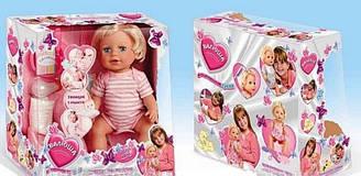 Кукла «Валюша» 7 функций, 10 предметов 8863-14