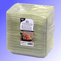 Крышка одноразовая для тарелки суши 50 шт 3x19x13,4 см прозрачная Pap Star