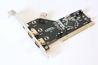 Контроллер FireWire +1394 PCI 4port Maxxtro (PCI slot 3 +1 порта Nec) (F204N)
