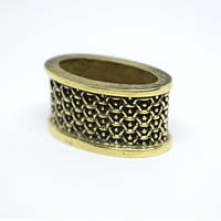 Кольцо для ножа Боуи широкое (бронза), фото 1
