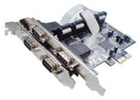 STLab Контроллер PCI-E -> 4xCOM (Moschip 9904) STLab