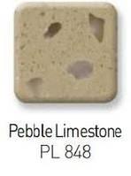 Staron PL848 Pebble Limestone 1200х760 и 2410х125