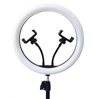30 см светодиодная лампа подсветка кольцевая Led на 2 держателя для селфи набор блогера