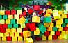 Поролонові кубики в чохлах і без будь-яких розмірів для дитячих ігрових кімнат
