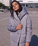 Курточка «Зефірка Люкс» подовжена на шнурочках від Стильномодно, фото 2