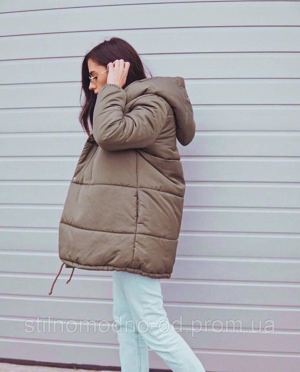 Курточка «Зефірка Люкс» подовжена на шнурочках від Стильномодно