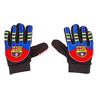 Вратарские перчатки детские/подросток Barcelona, р. 6 PVC, полиэстр