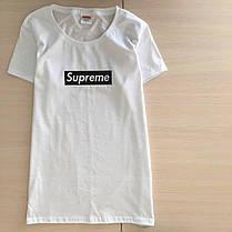 Футболка Supreme Box женская белая | Все размеры, фото 3
