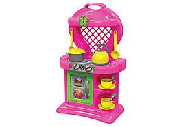 Детский игровой набор Кухня ТехноК 2155 | Набор плита, столовые приборы, посуда