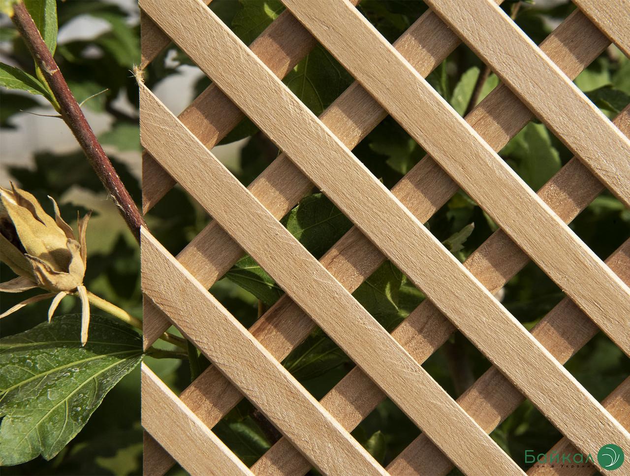 Дерев'яна декоративна решітка — 8P (Вільха, Бук, Клен, Ясень, Дуб)