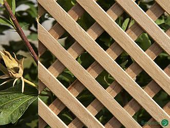 Деревянная декоративная решетка — 8P (Ольха, Бук, Клен, Ясень, Дуб)