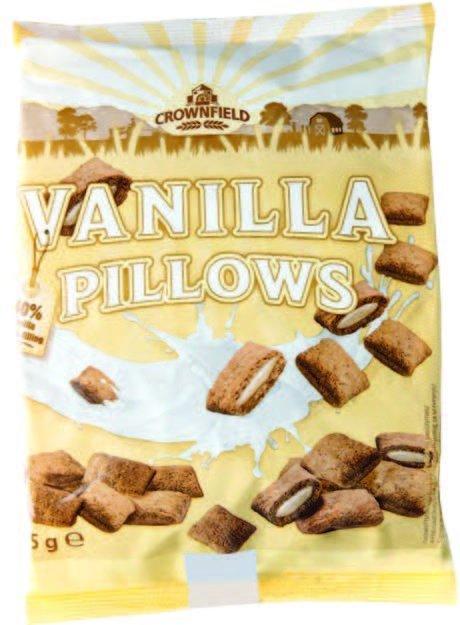 Хрустящие подушечки Crownfield Vanilla Pillows 375 g