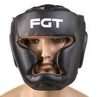 Шлем закрытый черный FGT, Cristal, Flex, размер L
