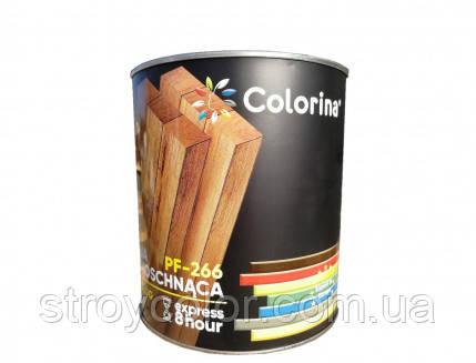 Эмаль для пола Желто-коричневая быстросохнущая ПФ-266 COLORINA 2,8кг (Краска колорина,алкидная)