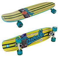 Скейт Airwalk Since86, канадский клен, р-р 87х23,6см, колеса PU 58х45мм