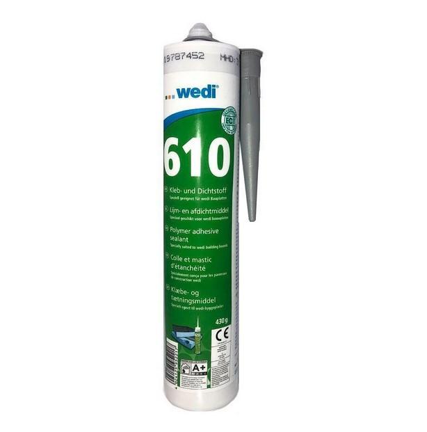Водостойкий клей-герметик Wedi 610