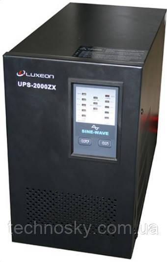 Бесперебойный блок питания (UPS ИБП) Luxeon UPS-2000ZX 2000ВА 1200Вт 24В