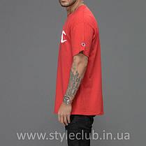 Champion Футболка мужская • Бирка оригинальная • красная, фото 2