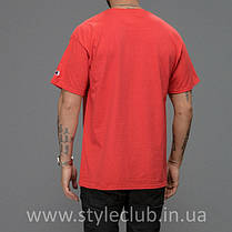 Champion Футболка мужская • Бирка оригинальная • красная, фото 3