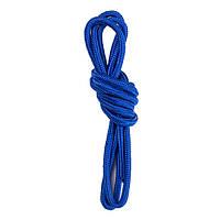 Скакалка гимнастическая синяя, хлопок/полиэстер