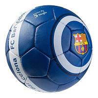 Мяч футбольный Grippy G-14 FC Barcа 7, синий/белый