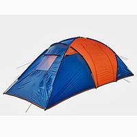 Палатка шестиместная туристическая двухслойная «Coleman 1002»