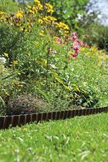 Бордюр садовый коричневый 9м*15см  | 00532-20.000.00, фото 3