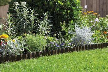 Бордюр садовый коричневый 9м*20см    00534-20.000.00, фото 3